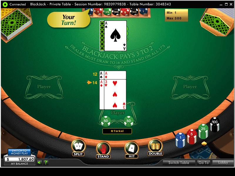 888 Casino Blackjack Free