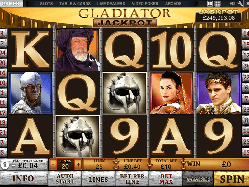 Betfair - Gladiator
