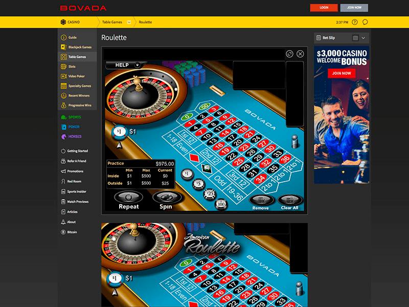 Bovada Casino Review For 2019 - $3000 Free Bonus Offer!