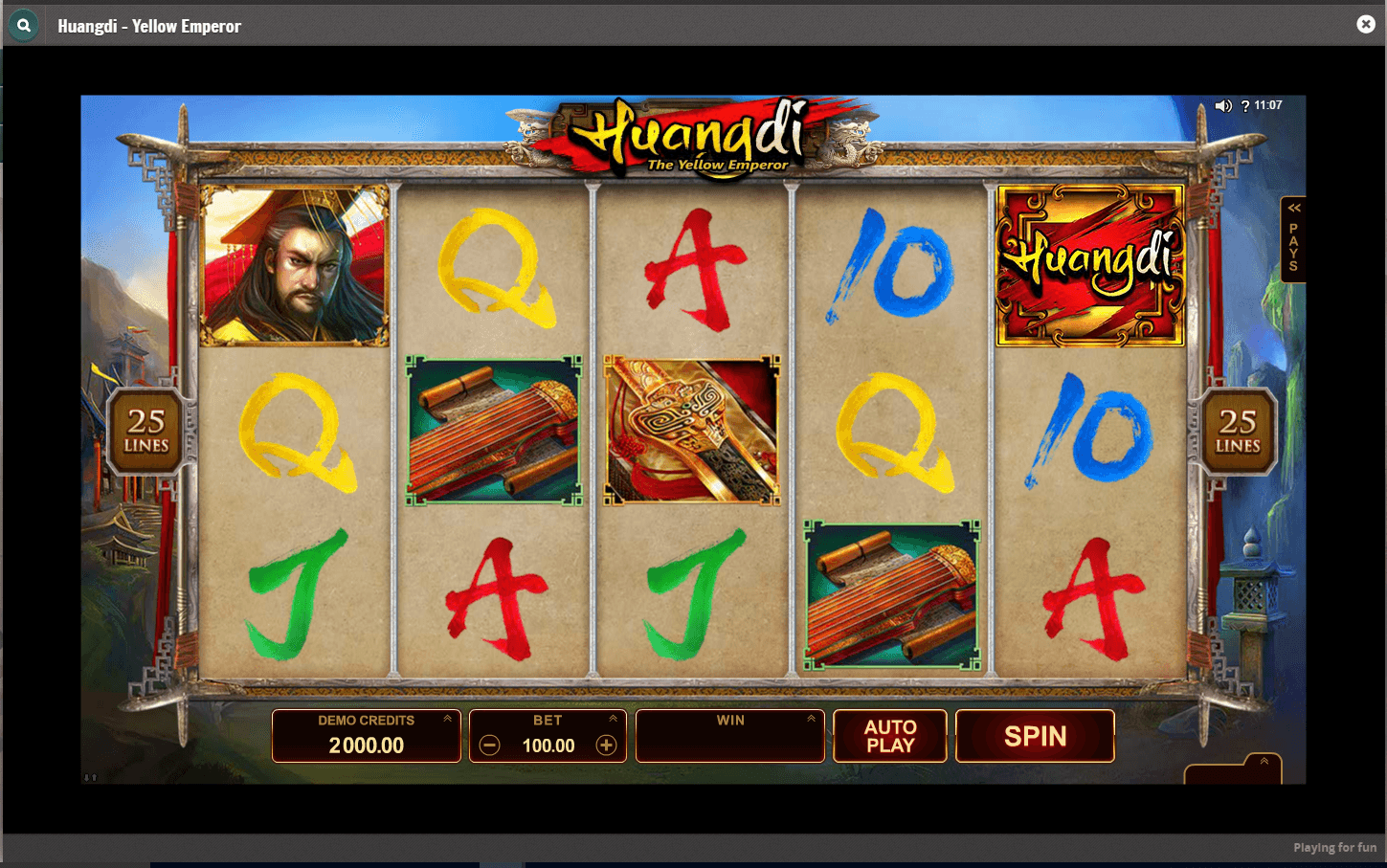 Cherry Casino - Huangdi slot game