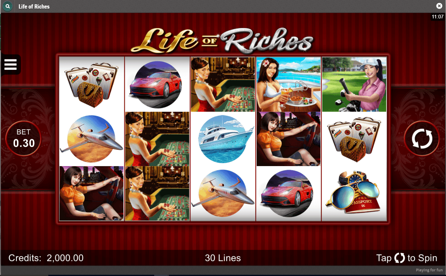 Cherry Casino - Life Of Riches slot game