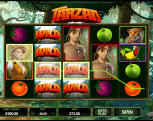Cherry Casino - Tarzan slot game