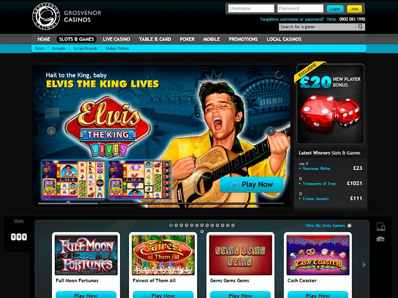 Online Slots Games Grosvenor