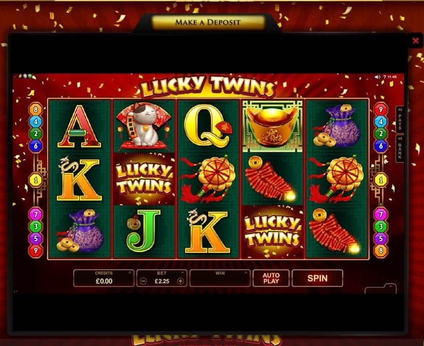 Lucky Twins Slot Game