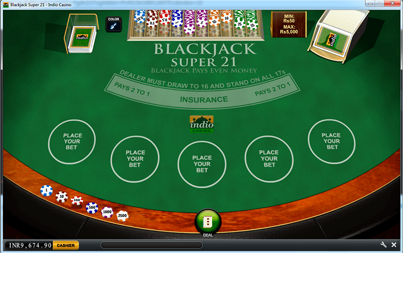 Indio - Blackjack Super 21
