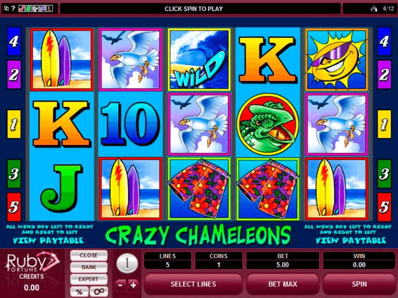 Rubyfortune - Crazy Chameleons Slot