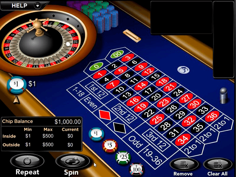Slotslv - Roulette Table View