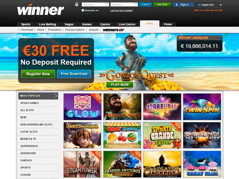 Winner Casino Reviews