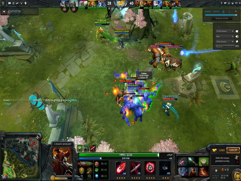 Battle Gameplay - Dota 2