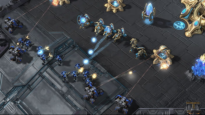 StarCraft II: Legacy of the Void - Gameplay Battle