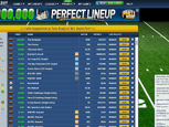 Draftday Fantasy Sports - Prefect Line Up Board