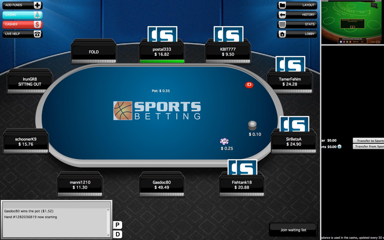 Sportsbetting poker login nadex binary options systems