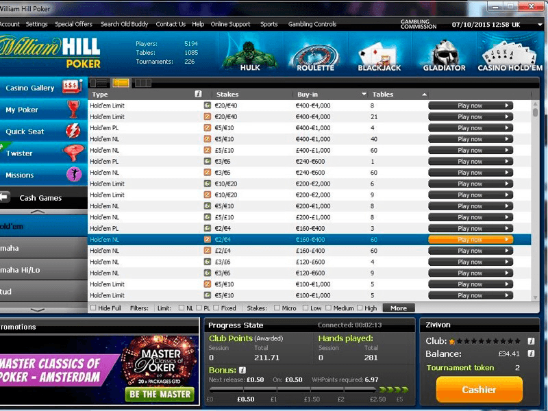 Kottans News: William Hill Poker Review