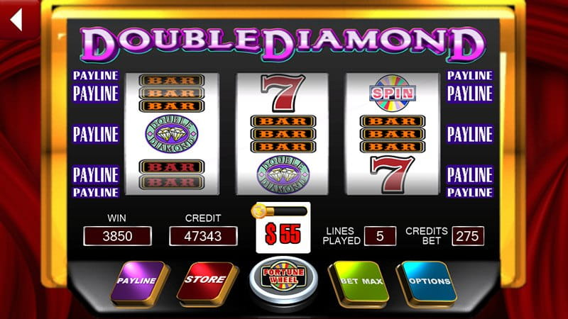 Double Diamond Slots For Fun