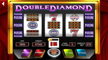 Double Diamonds Slot Game