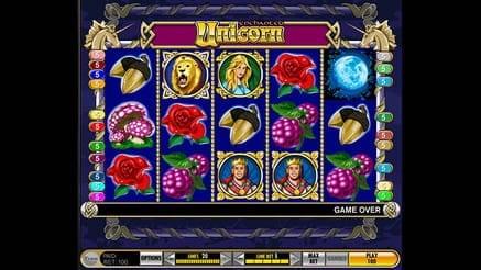 Unicorn Slot Machine