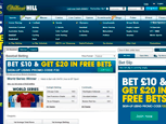 Williamhill Sports - Baseball Betting View