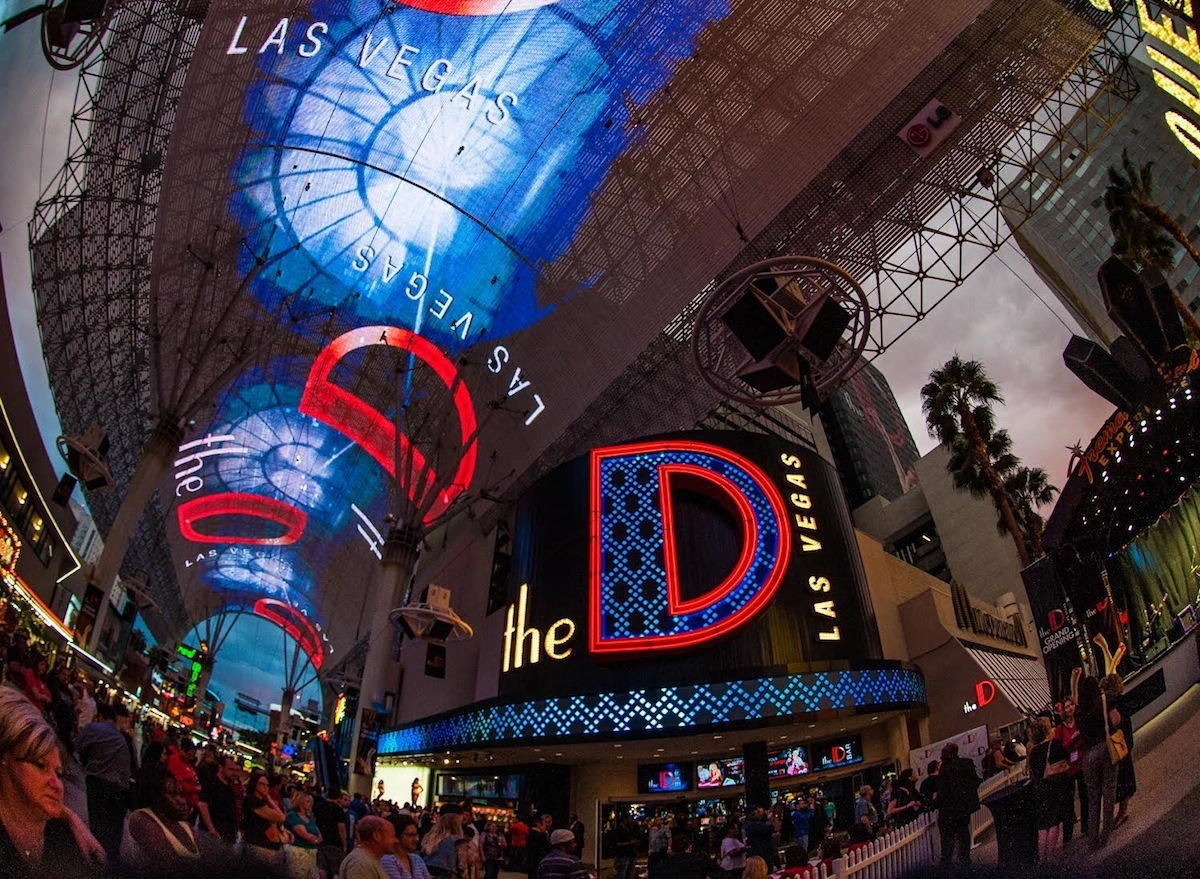 Downtown Las Vegas Nevada revenues