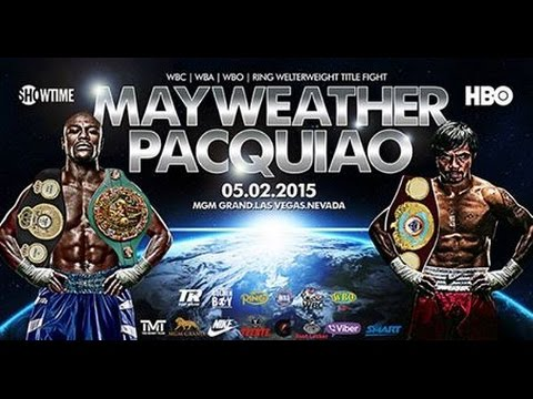 Floyd Mayweather vs. Manny Pacquiao boxing