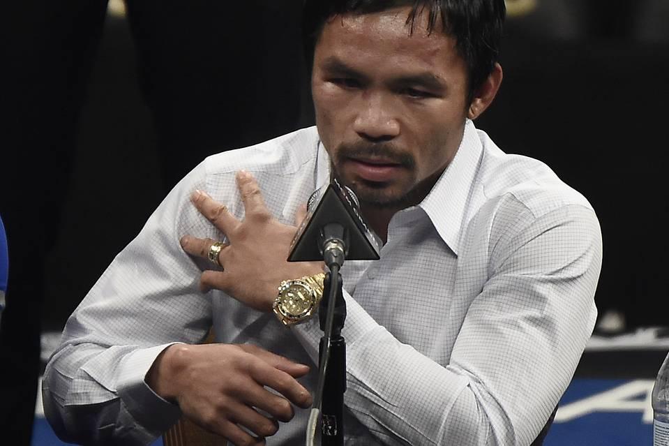Mayweather vs. Pacquiao perjury MGM boxing