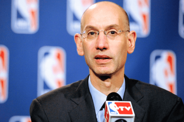 NBA sports betting Canada Adam Silver