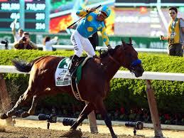 American Pharoah Triple Crown winner Belmont Stakes