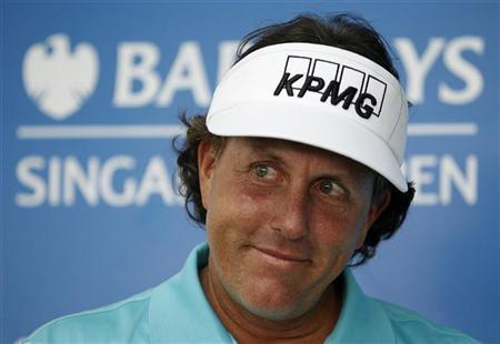 Phil Mickelson golf sports betting Gregory Silveira