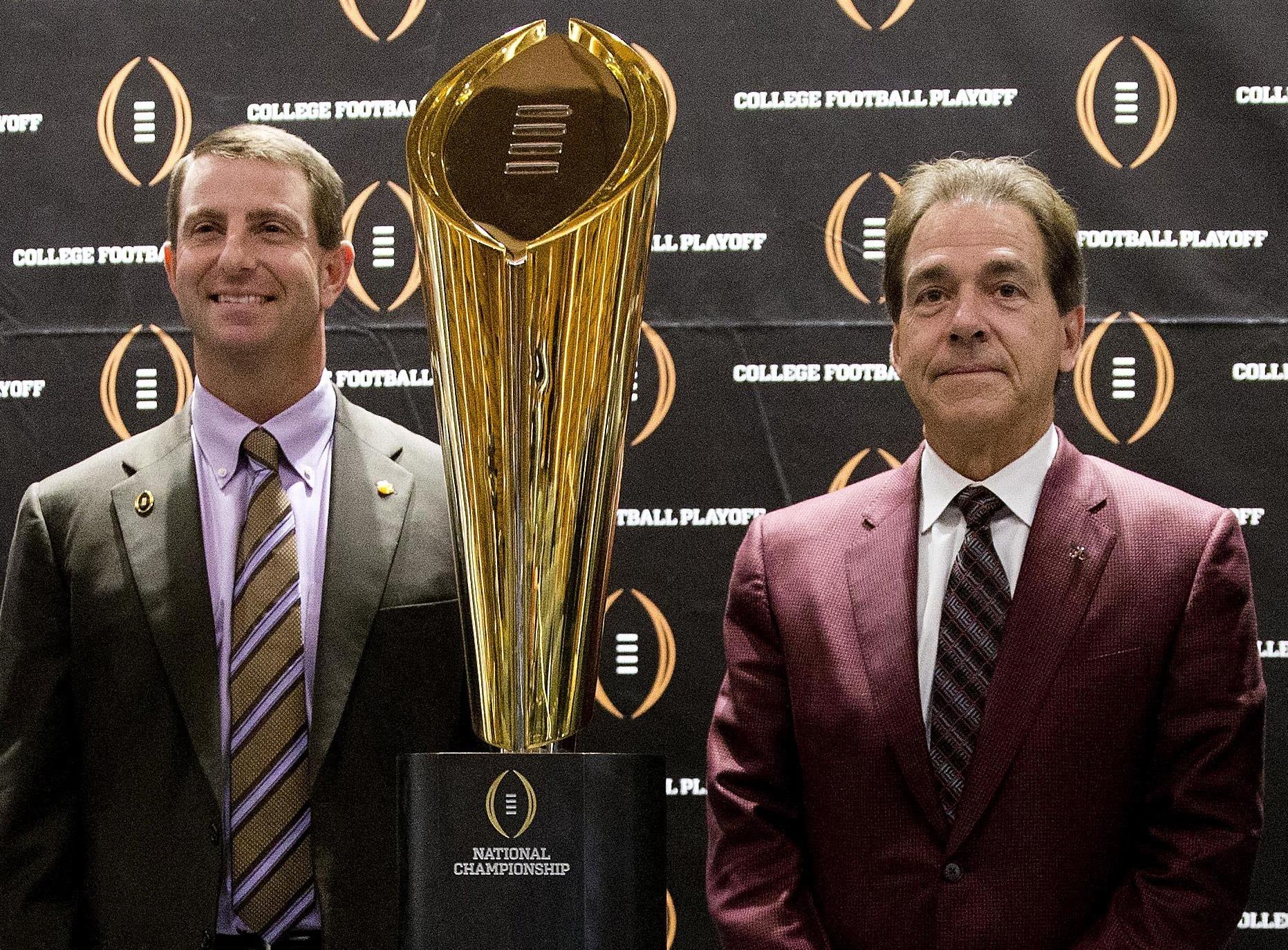 Clemson underdog Alabama CFP National Championship
