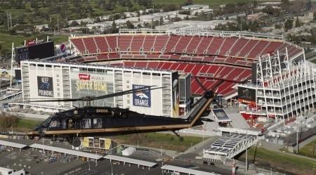 Super Bowl security FBI terrorism