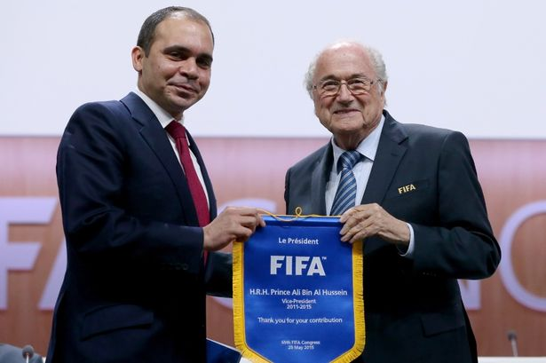 Prince Ali FIFA presidential election