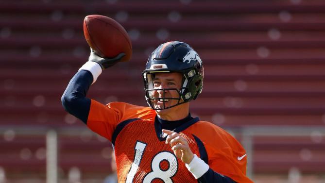 Super bowl sports betting Peyton Manning