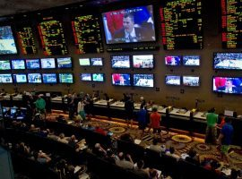 Nevada sportsbooks and lounges are seeing record handle in early 2016, and there is reason for continued optimism as Super Bowl 50 will be included in the next statistical release. (Image: Getty/sportsonearth.com)