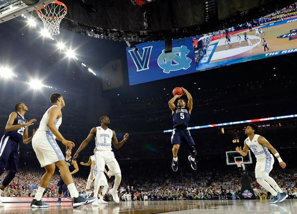 Villanova UNC NCAA March Madness