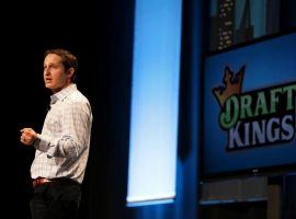 DraftKings CEO Jason Robins is eagerly awaiting Governor Andrew Cuomo's signature on a bill that would free New York daily fantasy sports from injunction. (Image: Barry Chin/Boston Globe)