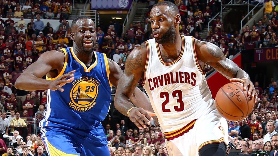 NBA Finals LeBron James Draymond Green