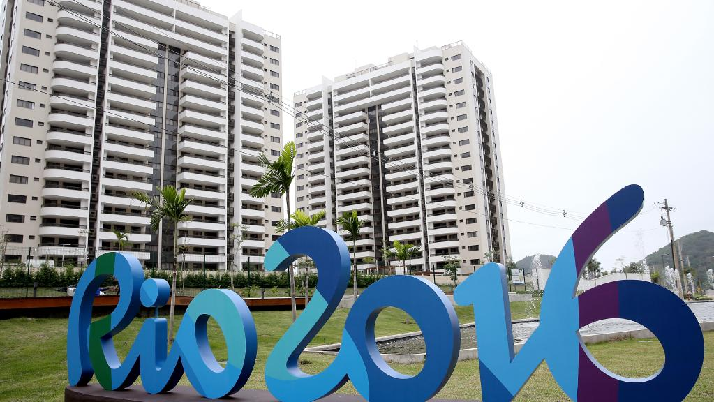 Olympic athletes athletes' village 2016 Rio Summer Games