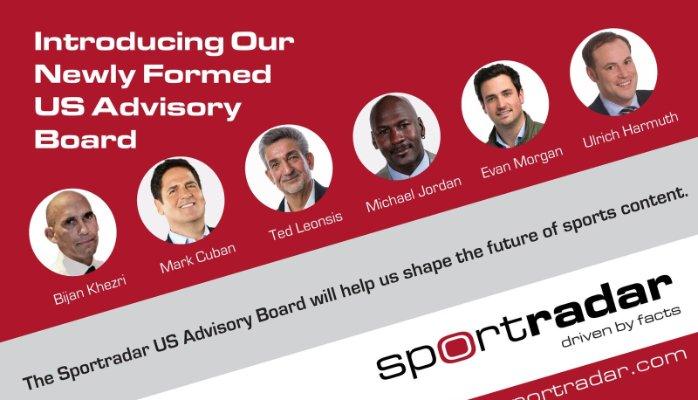 Sportradar Mark Cuban Michael Jordan NBA