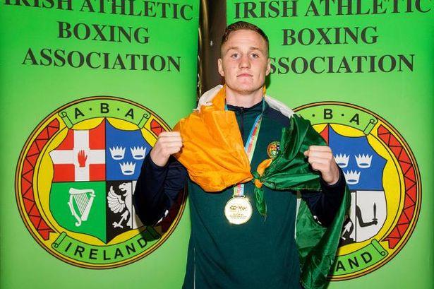 Irish boxers gamble Olympics Michael O'Reilly