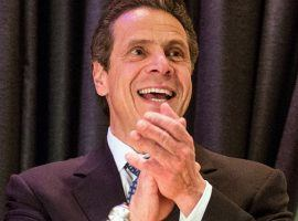 New York Governor Andrew Cuomo is one of two governors signing daily fantasy sports bills into law this month. (Image: Andrew Burton/Getty Images)