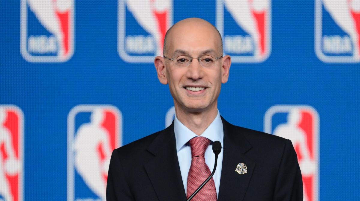American Gaming Association sports betting Adam Silver