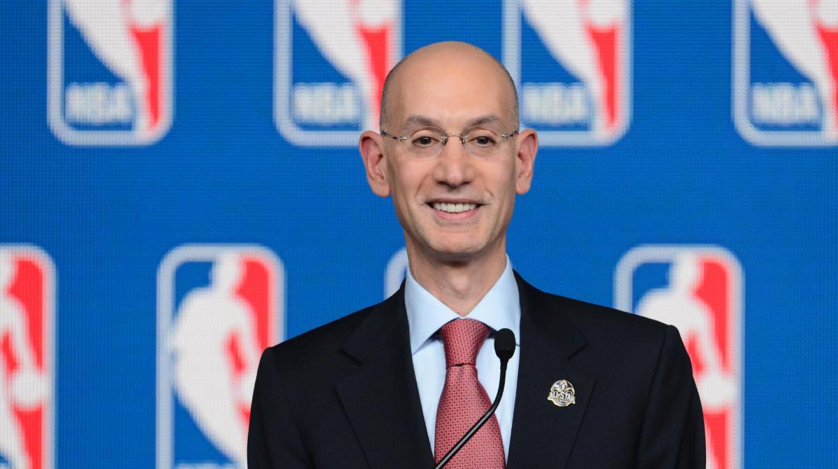 American Gaming Association sports betting Adam Silver