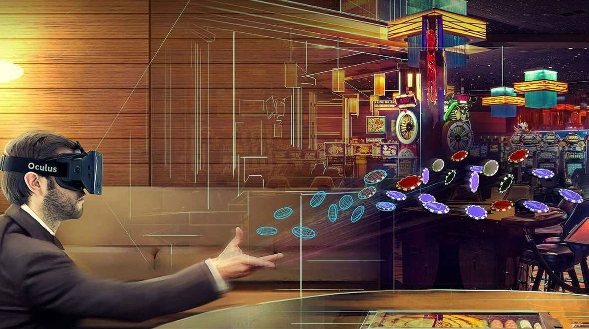 online gambling wagers $1 trillion VR casino