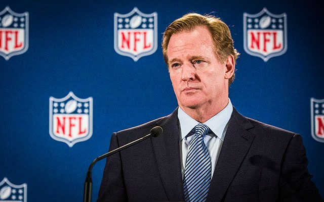 legalized sports betting NFL Roger Goodell