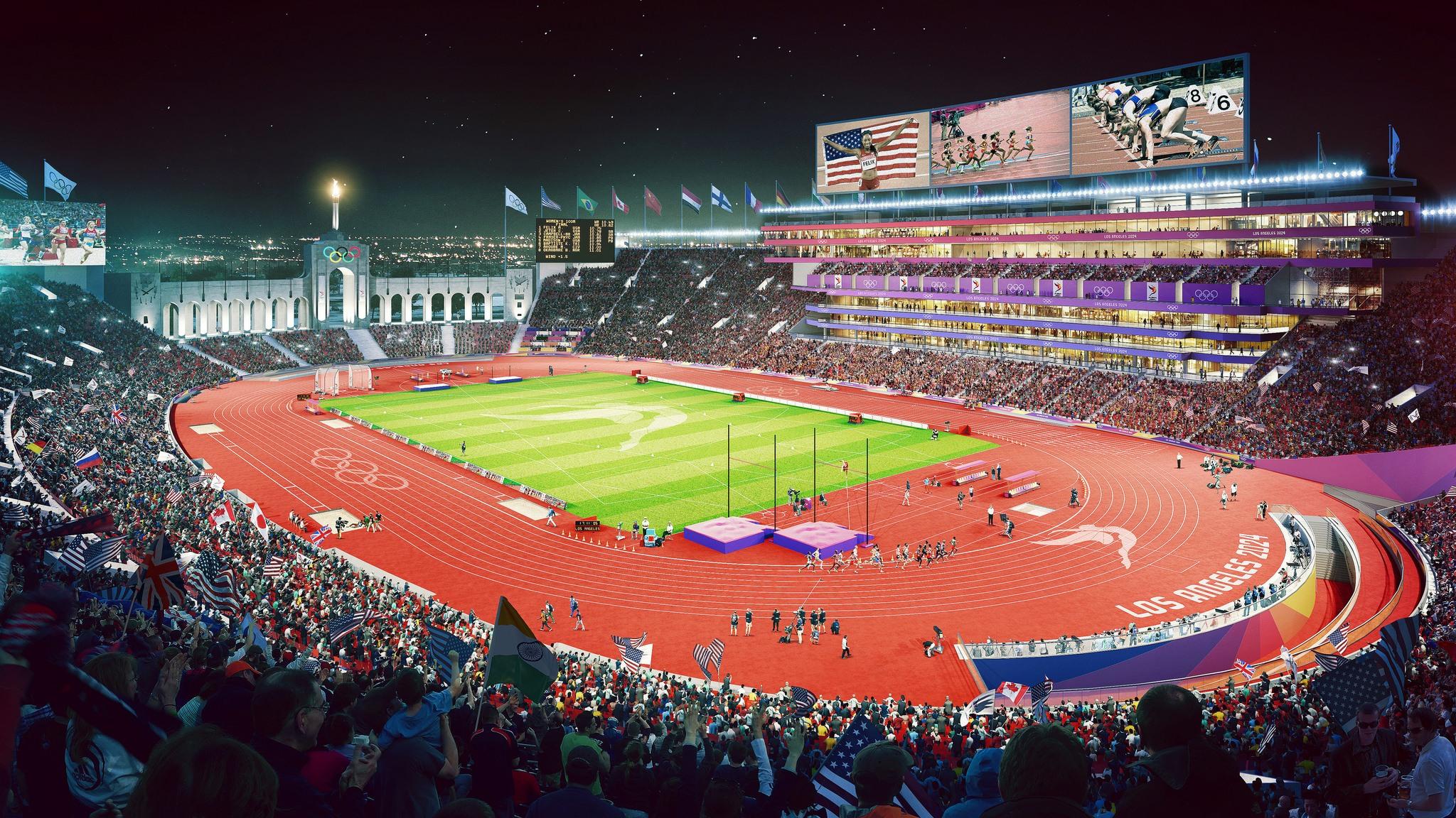 2024 Olympics Los Angeles Paris Budapest