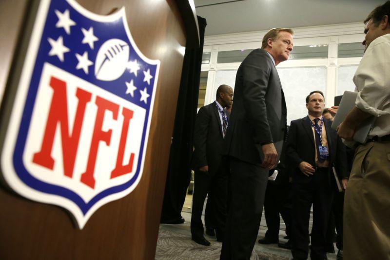 Roger Goodell Oakland Raiders Las Vegas