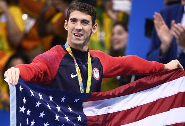 sports scandals and victories 2016 Michael Phelps