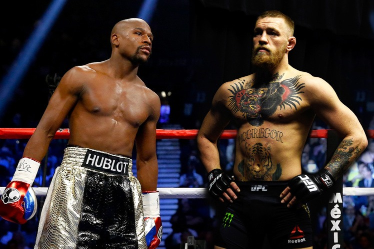 A fight between Floyd Mayweather and Conor McGregor has been rumored for more than a year, but might be coming closer to reality. (Image: Getty Images)