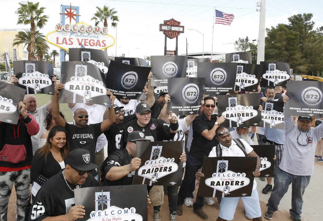 Raiders Will Make Some Draft Picks From Las Vegas Sign
