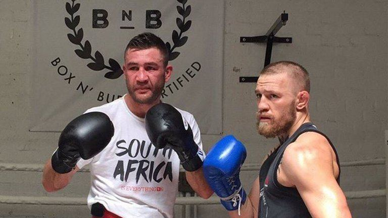 Sparring Partner says McGregor Stands Little Chance Against Mayweather