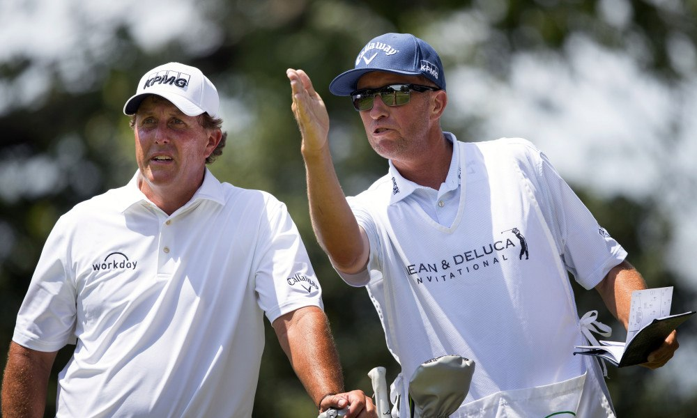 Future Uncertain After Phil Mickelson Splits with Caddie